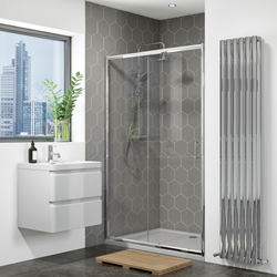1000mm Sliding Shower Door Universal Fit - Vega