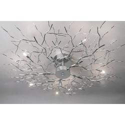 Plafondlamp Chroom 70464