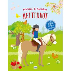 Reiterhof (Anziehpuppen Anziehpuppen-Sticker) als Buch von