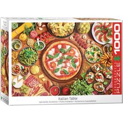 empireposter Puzzle Italienische Köstlichkeiten - 1000 Teile Puzzle im Format 68x48 cm, 1000 Puzzleteile