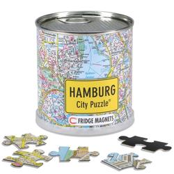 Hamburg City Puzzle Magnets 100 Teile 26 x 35 cm