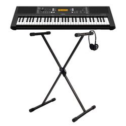 Yamaha PSR-E363 Keyboard SET mit Ständer und Kopfhörer