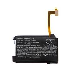 batterie compatible avec Samsung Gear SM-R735, S2 3G, SM-R730 smartwatch montre bracelet fitness