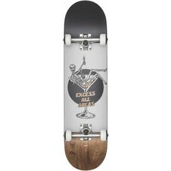 GLOBE G1 EXCESS Skateboard 2021 white/brown - 8.0