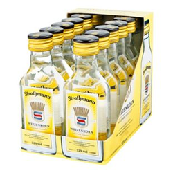 Strothmann Weizenkorn 32,0 % Vol. 100 ml, 12er Pack