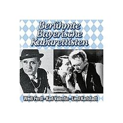 Berühmte Bayerische Kabarettisten  2 Audio-CDs - Hörbuch
