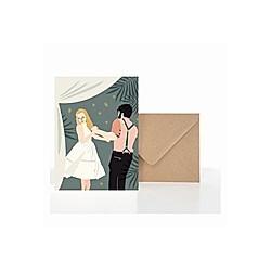 Grußkarte Hochzeit Tanz (VE5)