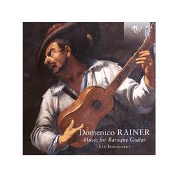 Lex Eisenhardt - RAINER MUSIC FOR BAROQUE GUITAR (CD)