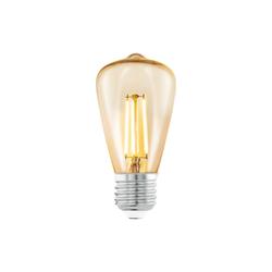 Eglo LED-Leuchtmittel länglich in bernstein, 3,5 W / E27