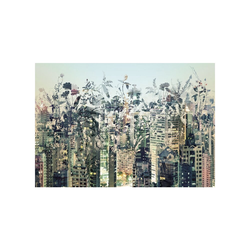 Fototapete KOMAR, URBAN JUNGLE, 8 Teile, BxH 368 x 254 cm