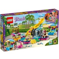 Lego Friends Andreas Pool-Party