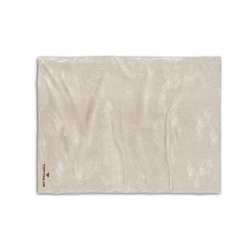 Biberna Fleece-Decke in creme, 150 x 200 cm