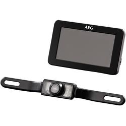AEG Rückfahrkamera RV 4.3, Rangier- und Einparkhilfe schwarz Auto-Elektronik Autozubehör Reifen