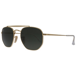 Ray-Ban Marshal RB3648 001 5421 Gold Sonnenbrille