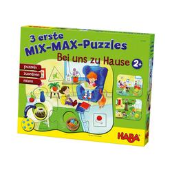 Haba Puzzle 3 erste Mix-Max-Puzzles - Bei uns Zuhause, Puzzleteile