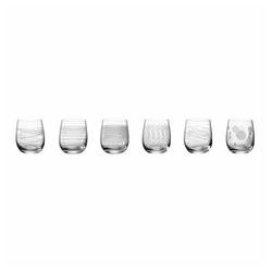 LEONARDO Glas CASELLA 6er-Set 300 ml, Kristallglas weiß