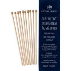 SILBERNITRAT-Kaliumnitr.Ätzstäb.Ätzstift 115mm st. 10 St