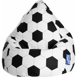 Sitting Point Sitzsack Fussball L