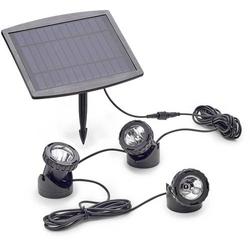 Pontec 77939 Teichbeleuchtung 3er Set LED 0.5W Schwarz