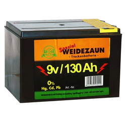 Batterie Weidezaun »Spezial« Batterie Zink / Kohle · 9v 130Ah