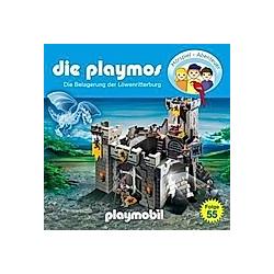 Die Playmos - 55 - Die Belagerung der Löwenritterburg - Hörbuch
