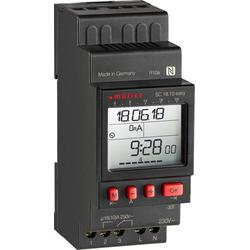Müller SC18.10 easy, 12V ACDC Hutschienen-Zeitschaltuhr digital 12 V/DC, 12 V/AC 16 A/250V