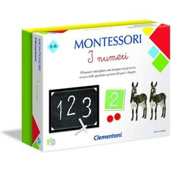 Clementoni Montessori Das Zahlen-Lernspiel