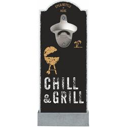 Contento Flaschenöffner Chill & Grill, für die Wand