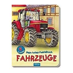 Mein tolles Puzzlebuch Fahrzeuge - Buch