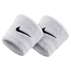 Nike Swoosh Schweißarmbänder - Weiß, size: ONE SIZE