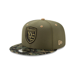 New Era Snapback Cap 9Fifty MLS San José Earthquakes