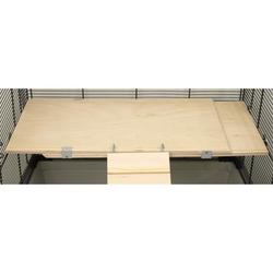Ausziehbare Holzetage FLEX-ED 45 x 25 x 1,7 cm ausziehbar bis ca. 78 cm 1 Stück