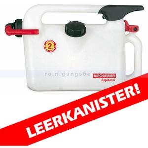 Rapidon 6 Benzinkanister 6 Liter Kunststoff Benzinkanister mit Dosiervorrichtung
