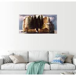 Posterlounge Wandbild, Die Toteninsel 80 cm x 40 cm