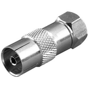 Vivanco SAT Adapter, F-Stecker <-> Koaxkupplung