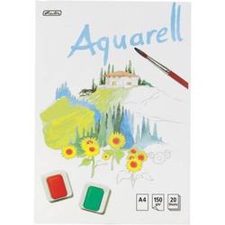 Aquarellblock A4 20 Blatt 150g/qm