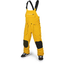Volcom - Roan Bib Overall Resin Gold - Skihosen - Größe: L