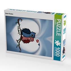Eulen Pärchen Lege-Größe 48 x 64 cm Foto-Puzzle Bild von Pezi Creation Puzzle