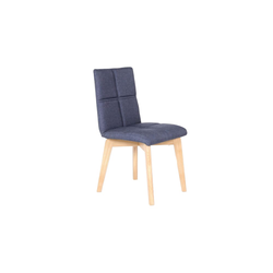 Standard Furniture Factory Stuhl Manon in jeans blau