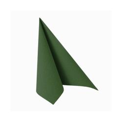 """Papstar Servietten, 1/4-Falz, 33 cm x 33 cm, """"ROYAL Collection"""", Farbe: dunkelgrün, 1 Karton = 12 Packungen à 20 Stück"""