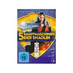 Die 5 Kampfmaschinen der Shaolin - The Kid With Golden Arm DVD
