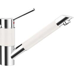 Schock Küchenarmatur SC-200 (1-St) mit Festauslauf weiß