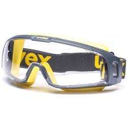 Uvex Arbeitsschutz u-sonic 9308.246 grau/gelb Arbeitsschutzbrille
