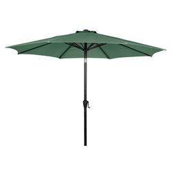 Sonnenschutz Felix Sonnenschirm mit Kurbel und Kippfunktion Ø3, ebuy24 grün