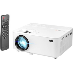 Technaxx Beamer TX-113 LED Helligkeit: 1800lm 800 x 480 WXGA 2000 : 1 Weiß