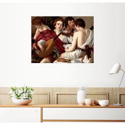 Posterlounge Wandbild, Die Musiker 80 cm x 60 cm