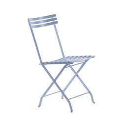 Klappstuhl Flower Ethimo blau, Designer Ethimo Design Studio, 84x44x52 cm