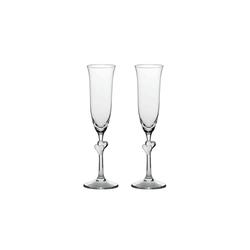 Stölzle Champagnerglas L'AMOUR Champagnerkelch weiß 2er Set (2-tlg)
