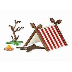 Playmobil® Konstruktions-Spielset Playmobil 6331 Wikingerzelt mit Feuerstelle (Folie