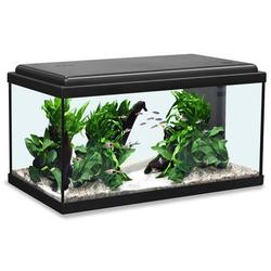 Aquatlantis Advance 60 LED Aquarium, 60x30x34cm, 54L, schwarz
